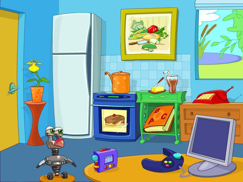 Английский для детей: Дома и во дворе
