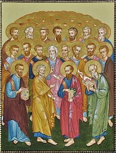 მოციქულები, ბახარებლები, მოციქულთასწორნი